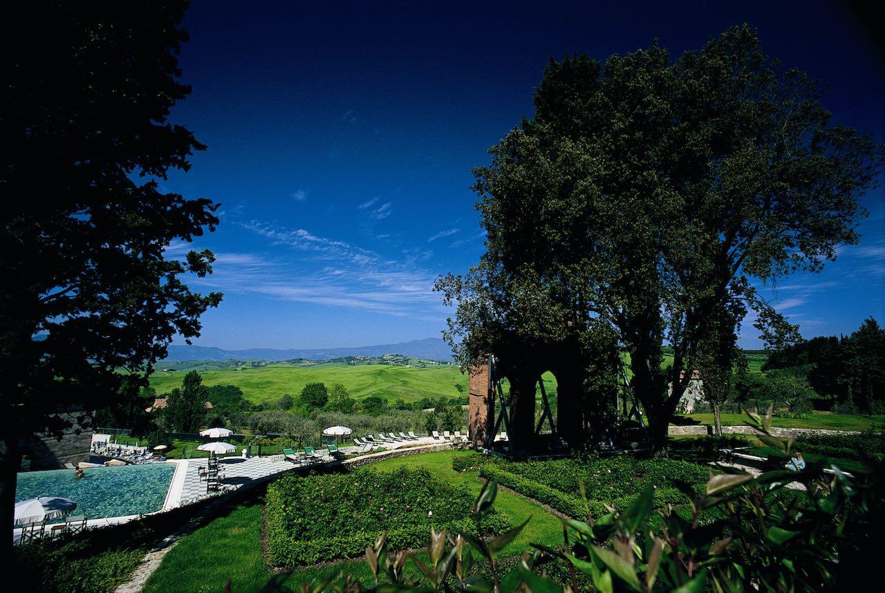 Fonteverde Tuscan Resort, la Spa con vista panoramica