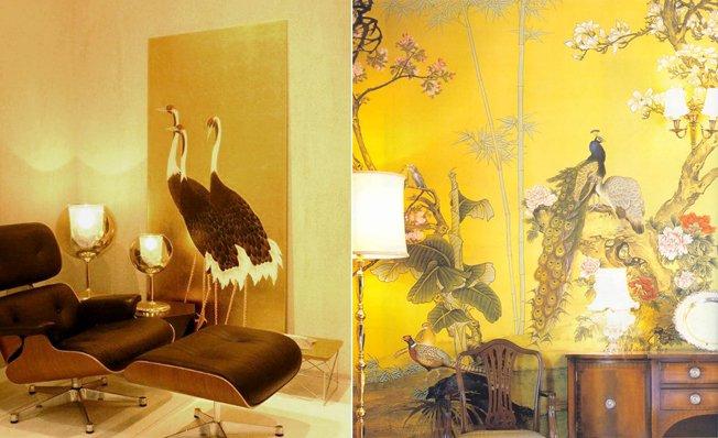 Misha il lusso dipinto a mano sulle pareti della tua casa for Carta da parati cinese