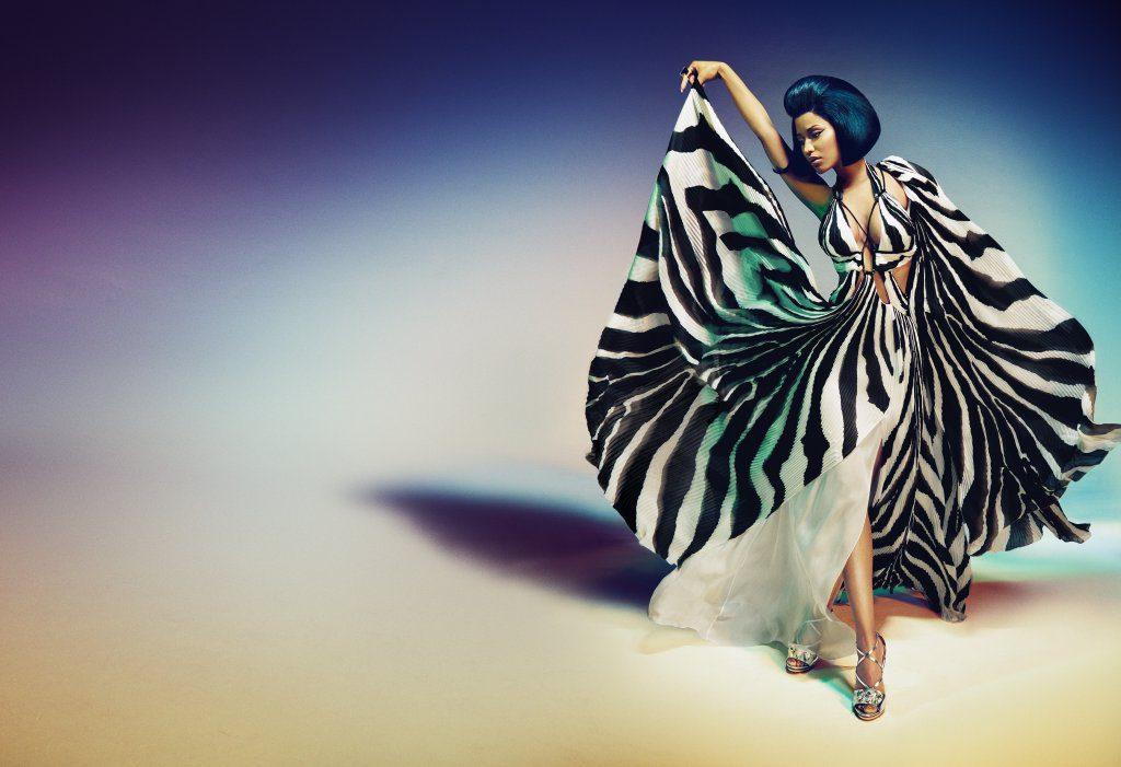 low priced 626eb 783b5 Roberto Cavalli chooses Nicki Minaj - MFM MUSIC FASHION MUST